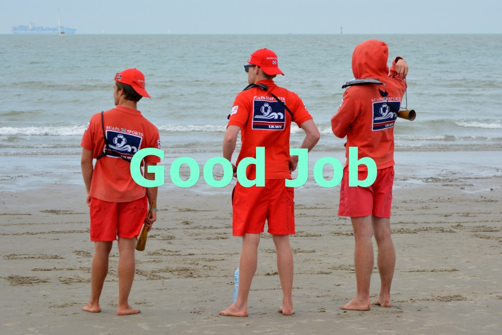 Canva - Rescuers, Job, People, Uniform, Sea, Beach, Lifeguard